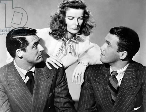 Indiscretions: THE PHILADELPHIA STORY, Cary Grant, Katharine Hepburn, James Stewart, 1940