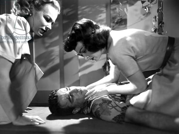 FROM HERE TO ETERNITY, Montgomery Clift, Donna Reed, 1953
