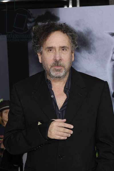 Tim Burton at arrivals for FRANKENWEENIE Premiere, El Capitan Theatre, Los Angeles, CA September 24, 2012. Photo By: Michael Germana/Everett Collection