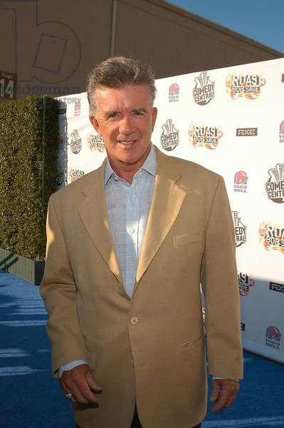 Alan Thicke at arrivals for Comedy Central Roast of Bob Saget, Warner Brothers Studio Lot, Burbank, CA, August 03, 2008. Photo by: Tony Gonzalez/Everett Collection