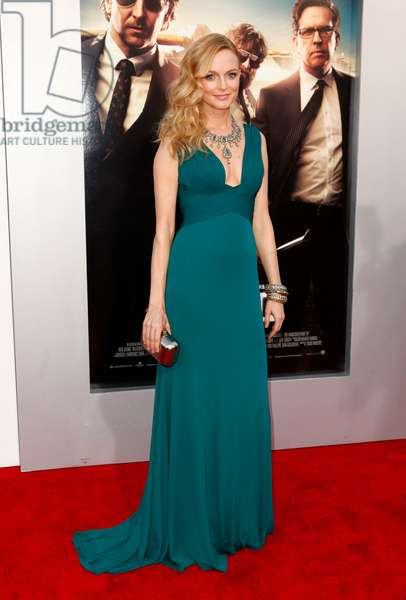 Heather Graham (wearing a Herve L Leroux gown) at arrivals for THE HANGOVER: PART III Premiere, Westwood Village Theater, Los Angeles, CA May 20, 2013. Photo By: Emiley Schweich/Everett Collection