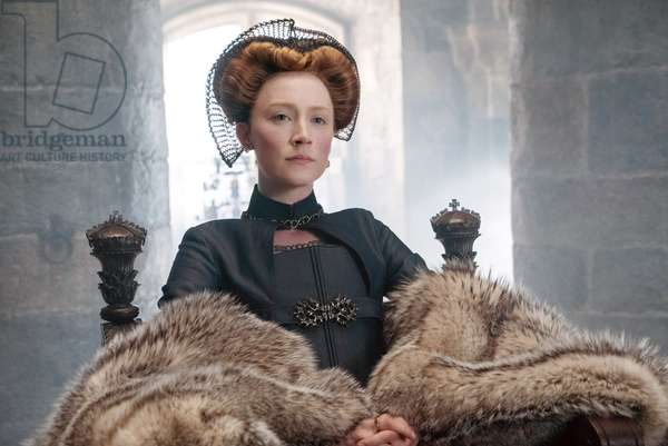 MARY QUEEN OF SCOTS, Saoirse Ronan as Mary Stuart, 2018. ph: Liam Daniel. © Focus Features /Courtesy Everett Collection