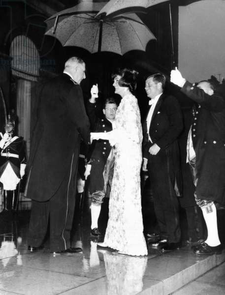 De Gaulle et les Kennedy