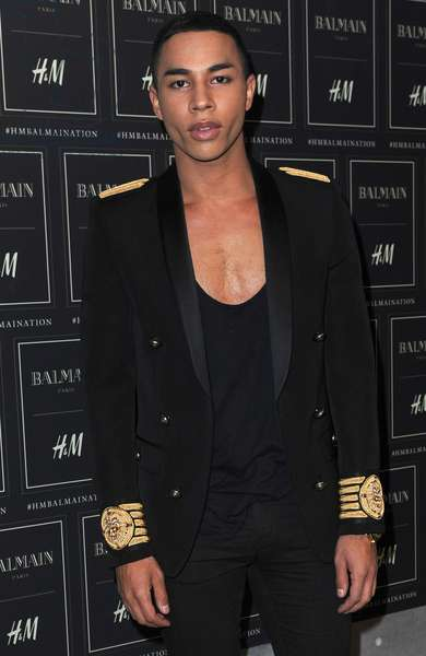 at arrivals for Balmain X H&M Collection Launch - Arrivals, The Corner at 23 Wall Street, New York, NY October 20, 2015. Photo By: Kristin Callahan/Everett Collection