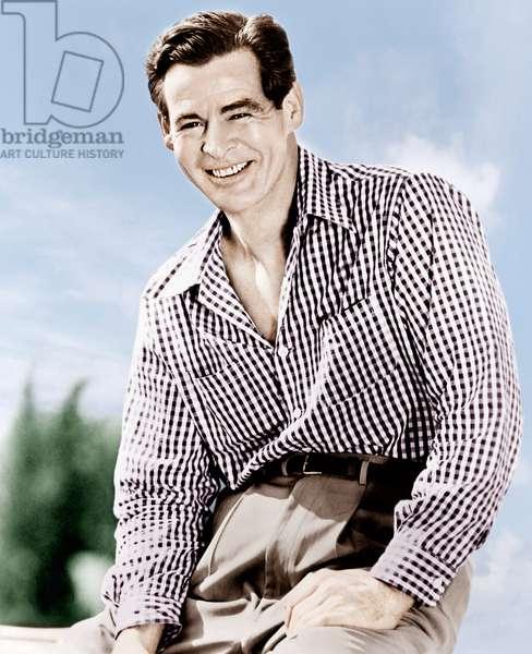 Robert Ryan, RKO Radio Pictures publicity shot, ca. early 1950s