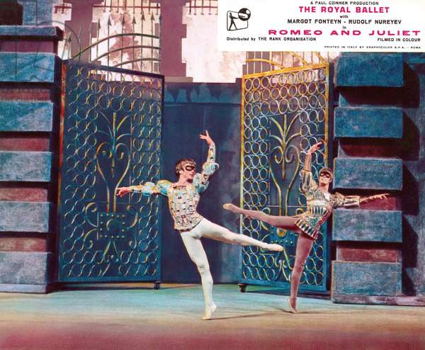 ROMEO AND JULIET, Rudolf Nureyev (left), 1966