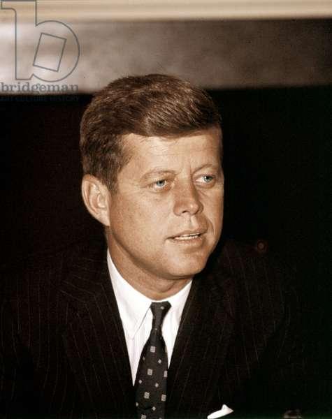 John F. Kennedy, 1962.