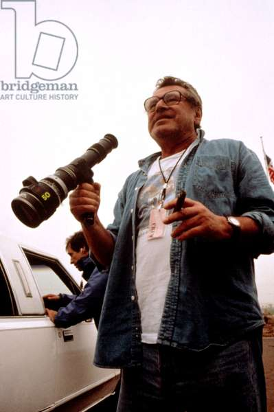 MILOS FORMAN, on the set of THE PEOPLE VS. LARRY FLYNT, 1996