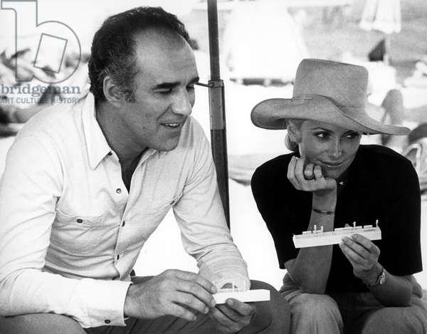 Michel Piccoli and Catherine Deneuve, circa early 1970s