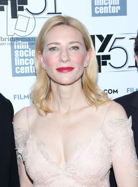 Cate Blanchett at arrivals for Gala Tribute to Cate Blanchett at the 2013 New York Film Festival, Alice Tully Hall at Lincoln Center, New York, NY October 2, 2013. Photo By: Andres Otero/Everett Collection