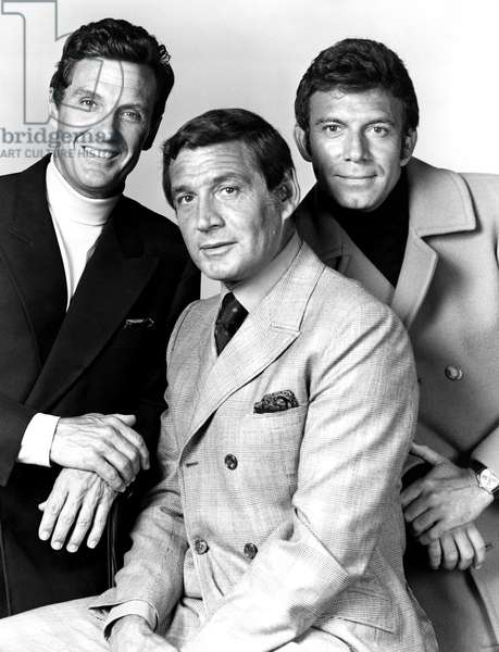THE NAME OF THE GAME, 1968-1971, Robert Stack, Gene Barry, Tony Franciosa