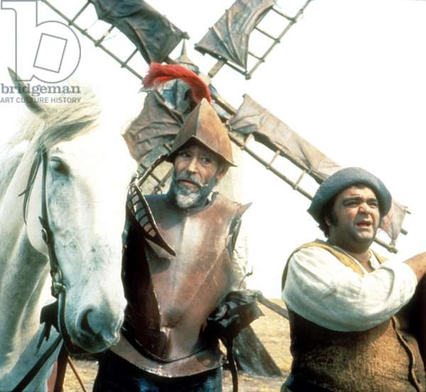 MAN OF LA MANCHA, from left: Peter O'Toole, James Coco, 1972, Photo by: Everett Collection (41766.jpg)