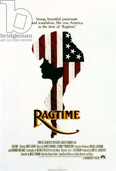 RAGTIME: RAGTIME, US poster, 1981, (c) Paramount/Courtesy: Everett Collection