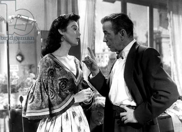 THE BAREFOOT CONTESSA, Ava Gardner, Humphrey Bogart, 1954