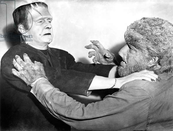 FRANKENSTEIN MEETS THE WOLF MAN, Bela Lugosi, Lon Chaney, Jr., 1943
