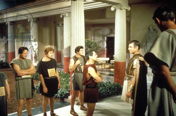 SPARTACUS, Tony Curtis (center front), Laurence Olivier, 1960