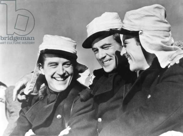 Beau Geste: BEAU GESTE, from left: Ray Milland, Gary Cooper, Robert Preston, 1939