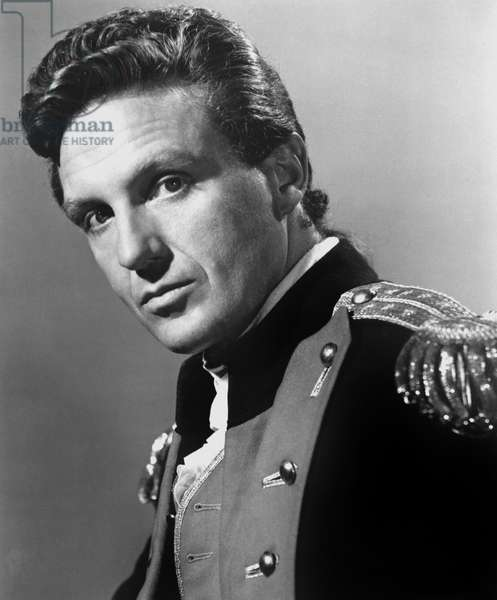 John Paul Jones maitre des mers: JOHN PAUL JONES, Robert Stack, 1959