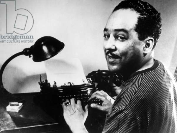 Langston Hughes, portrait (ca. 1940s)