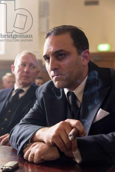 THE MAKING OF THE MOB: CHICAGO, Michael Kotsohilis (as Al Capone), (Season 1, ep. 105, airs Aug. 8, 2016). photo: Richard Brimer / ©AMC / Courtesy: Everett Collection