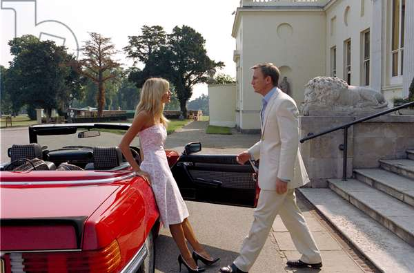 LAYER CAKE, Sienna Miller, Daniel Craig, 2004, (c) Sony Pictures Classics/courtesy Everett Collection