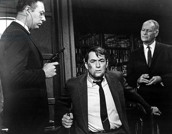 MIRAGE, George Kennedy, Gregory Peck, Leif Erickson, 1965.