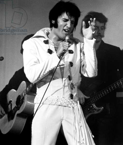 Elvis Presley on tour