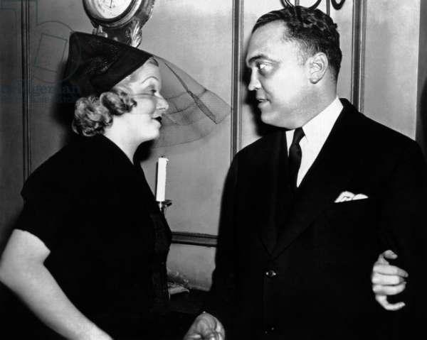 Jean Harlow et J. Edgar Hoover