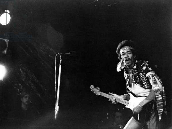 JIMI HENDRIX, Jimi Hendrix circa 1970, 1973 documentary