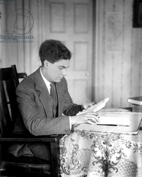 Edgard Varese: Edgard Varese (1883-1965), French born and educated composer, immigrated to the United States in 1915, at the age of 32. He pioneered using electronic music.