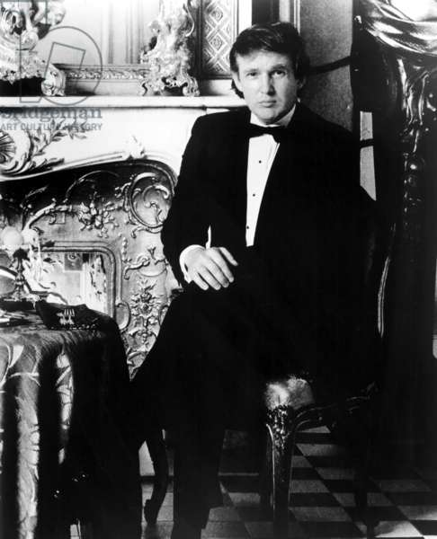 Donald Trump, late 1980s portrait.