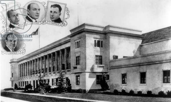Warner Brothers' Sunset Boulevard Studios, Los Angeles, ca. mid-1920s