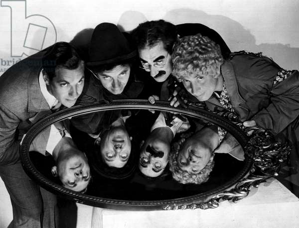 MARX BROTHERS, 1933 publicity photo.
