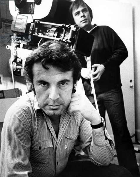 Milos Forman: ONE FLEW OVER THE CUCKOO'S NEST, director Milos Forman on set, 1975
