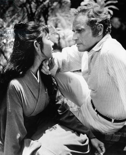 THE HAWAIIANS, Miko Mayama, Charlton Heston, 1970