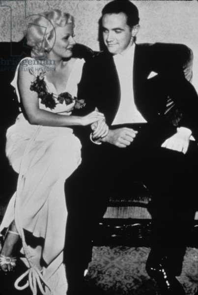 Jean Harlow, Howard Hughes, ca. 1932