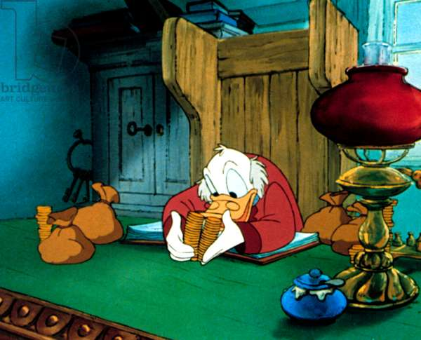 MICKEY'S CHRISTMAS CAROL, Scrooge McDuck, 1983, (c)Buena Vista Pictures/courtesy Everett Collection