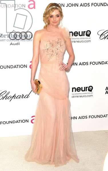 Lydia Hearst at arrivals for 20th Annual Elton John AIDS Foundation Academy Awards Viewing Party, West Hollywood Park, Los Angeles, CA February 26, 2012. Photo By: Tony Gonzalez/Everett Collection