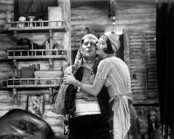 THE UNKNOWN, Lon Chaney, Joan Crawford, 1927