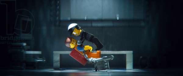 THE LEGO MOVIE, from left: Emmet Brickowoski (voice: Chris Pratt), Bad Cop/Good Cop (voice: Liam Neeson), 2014. ©Warner Bros. Pictures/courtesy Everett Collection
