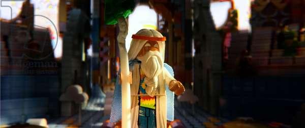 THE LEGO MOVIE, Vitruvius (voice: Morgan Freeman), 2014, ©Warner Bros. Pictures/courtesy Everett Collection