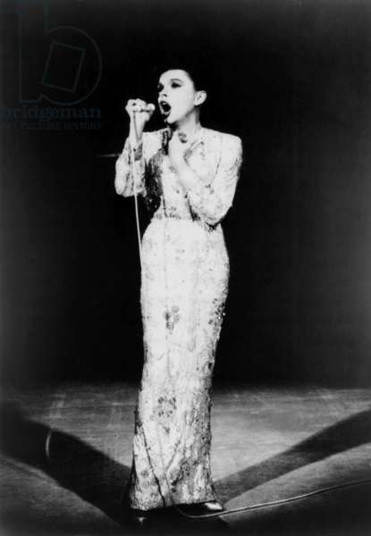 JUDY GARLAND IN CONCERT, Judy Garland, aired March 22, 1964