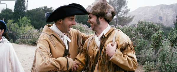 DRUNK HISTORY, l-r: Tony Hale (as Meriwether Lewis), Taran Killam (as William Clark) in 'Nashville' (Season 1, Episode 7, aired August 20, 2013), 2013-, ©Comedy Central/courtesy Everett Collection