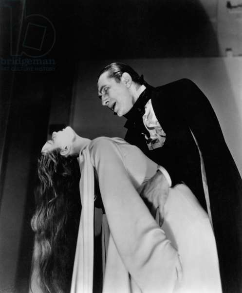 MARK OF THE VAMPIRE, Carroll Borland, Bela Lugosi, 1935