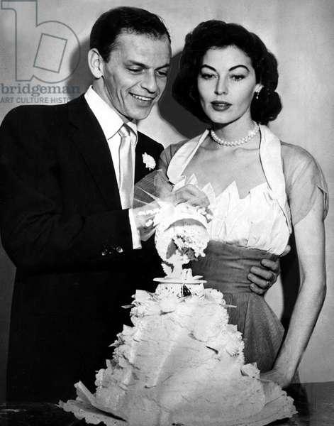 Frank Sinatra et Ava Gardner