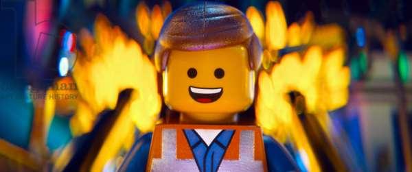 THE LEGO MOVIE, Emmet Brickowoski (voice: Chris Pratt), 2014. ©Warner Bros. Pictures/courtesy Everett Collection