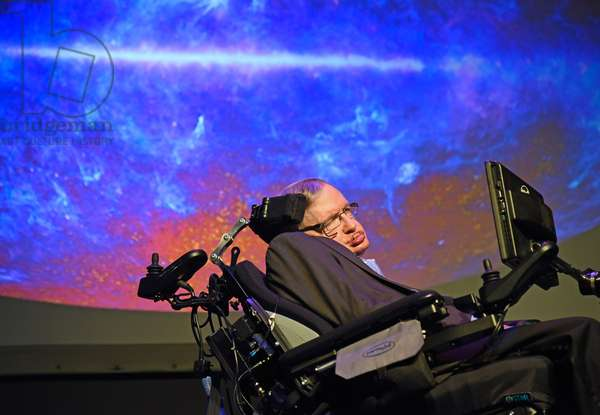 Stephen Hawking in attendance for STARMUS III Festival 2016: Tribute to Stephen Hawking - WED, Piramide de Arona, Tenerife, Canary Islands, -- June 29, 2016. Photo By: Derek Storm/Everett Collection