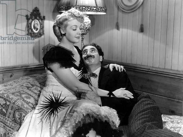 Chercheurs d'or: GO WEST, Marion Martin, Groucho Marx, 1940