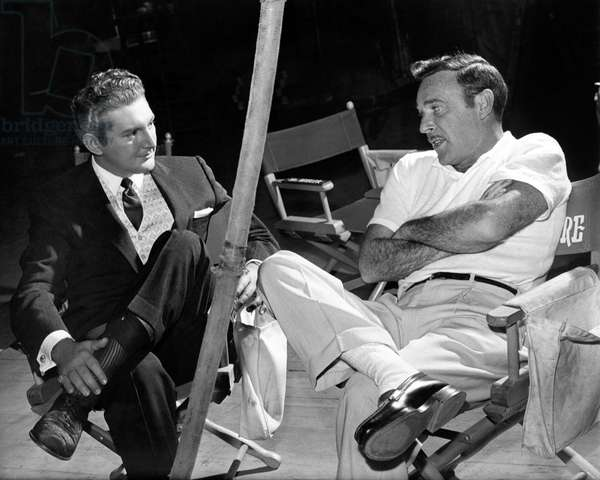Sincerely Yours: SINCERELY YOURS, Liberace, director Gordon Douglas, on-set, 1955