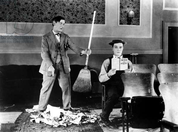 Sherlock Jr: SHERLOCK JR., Ford West, Buster Keaton, 1924